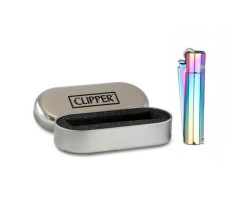 Clipper Metal Mix Icy Blue&Gold Regulable (Con Caja)