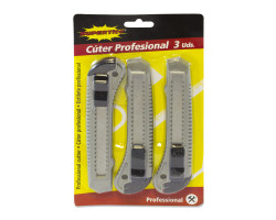 Cutter profesional 3uds