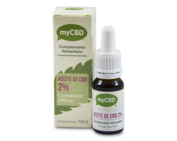 Aceite MyCBD 2% Sublingual 10ml