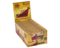 Papel Smoke Invaders 1 1/4 Natur (50 unid)