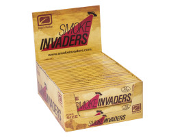 Papel Smoke Invaders KingSize Natur (50 unid)