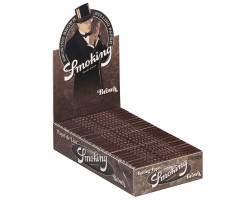 Smoking Brown 1 1/4 (caja de 25 librillos)